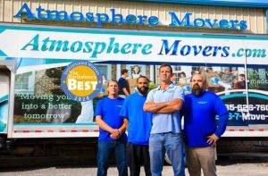 Atmosphere Movers Honored As Northshore's Best Moving Company